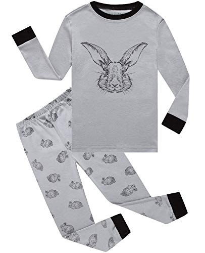 Little Pajamas Boys Pjs Easter Rabbit Toddler Sleepwear Kids Easter Gift Clothes Sets Size 10