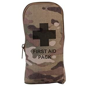 41ArE5rWDtL. SS300  - Kombat Small First Aid Kit In Pouch Multicam