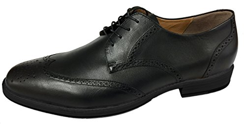 Artisan Handcrafted Men's Dress Shoes by Tauer & Johnson - Montgomery - Wing Tip - Blucher - Oxford ()