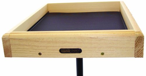 Birds Choice Cedar 17in x 14in Open Platform Feeder