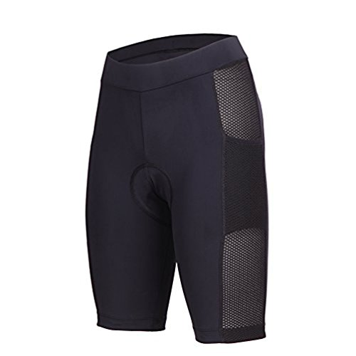 beroy Womens 3D Gel Padded Bike Shorts with Side Pockets for 5.5