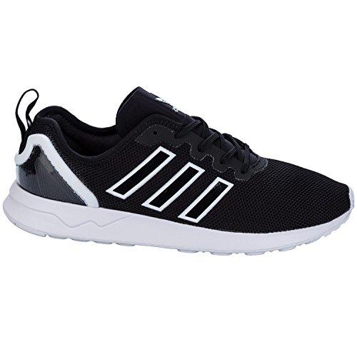 Adidas Originals Mens Originelen Zx Flux Adv Trainers Zwartwit Us13.5 Zwart