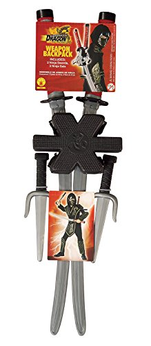 Rubie's Dragon Ninja Weapon Backpack Weapon Set