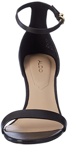 Aldo Zenavia - Sandalias de tobillo Mujer Negro (97 Black Leather)