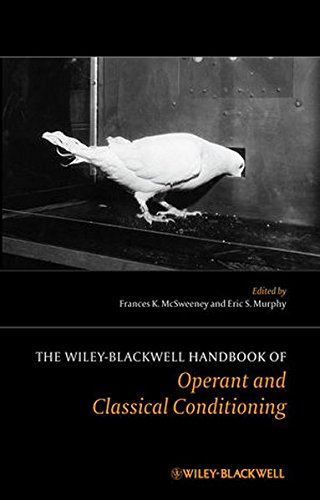 The Wiley Blackwell Handbook of Operant and Classical Conditioning