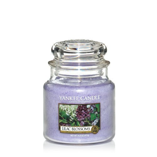 Yankee Candle Lilac Blossoms Small Jar Candle 3.7 oz
