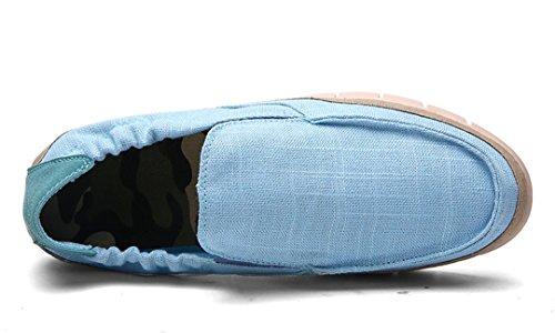 ... Tda Menns Trendy Pustende Lav Cuff Elastisk Sengetøy Utendørs Sneaker  Babyblå ...