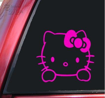 a2b35a9d3 Amazon.com: Hello Kitty Vinyl Decal Sticker (6
