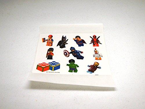 Building Block Minifigure Spiderman Super Hero Marvel Mini figure + FREE minifgure sticker