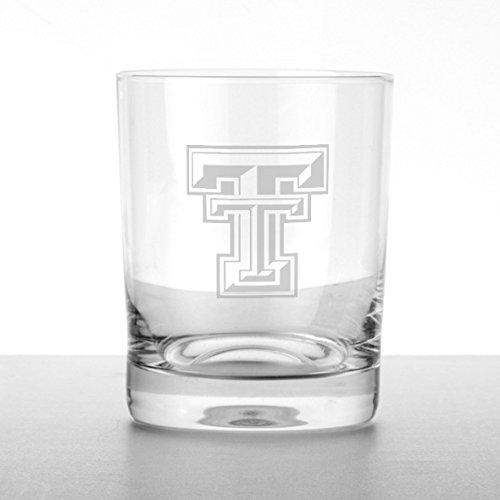 Texas Tech Tumbler Glasses - Set of 2 (Texas Tech Glassware)