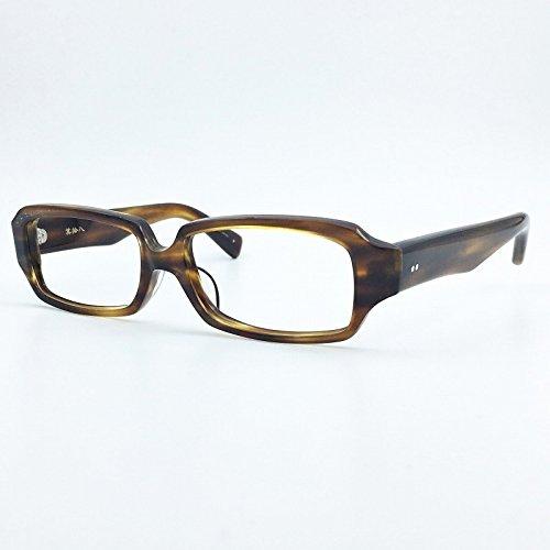 角矢甚治郎 其拾八 日本製 SABAE 職人が作る眼鏡 セルロイド製 メガネ フレーム 度付き対応 B07DS4BYP4 (度入り)薄型1.60非球面レンズ付き|チ チ (度入り)薄型1.60非球面レンズ付き