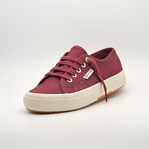 SCARPE UNISEX SUPERGA 2750-CLOUD COTU S009QJ0 (37 - C84 DK BORDEAUX)