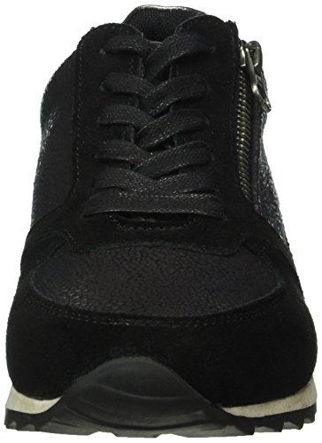 Dockers by Gerli Damen 38ml205-682 Sneaker Schwarz (Schwarz 100)