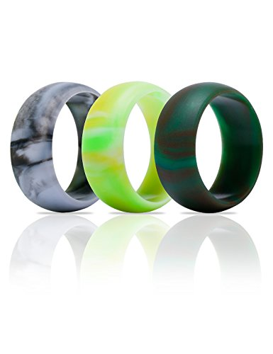 DHCare%C2%AE Silicone Wedding Ring Pack
