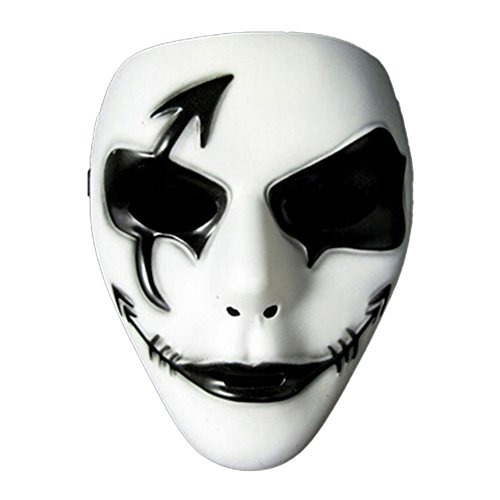Ingerik Halloween Mask Festival Costume PVC Mask Ghost Dance erformance Mask -