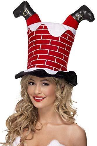 Smiffy's Santa Stuck in Chimney Hat -