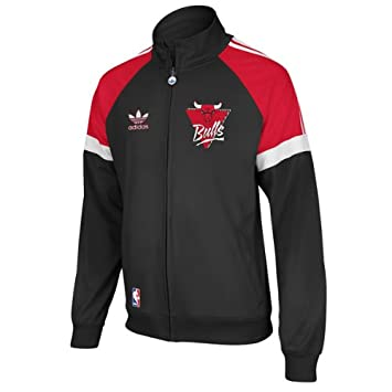 Adidas Chicago Bulls Originals NBA Court Series Retro Track Jacket Chaqueta: Amazon.es: Deportes y aire libre