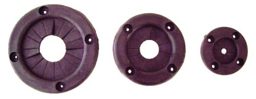 Rig Rite Manufacturing 610 Marine 1'' Black Rubber Rigging Grommet