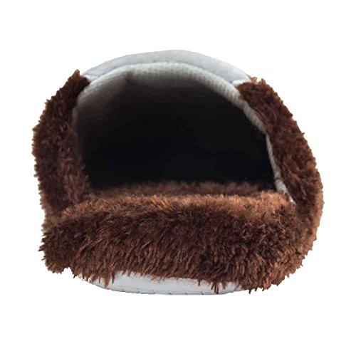 coffee CoCo House Fleece Women's Cozy Bunny Slipper Plush Urban HZ1qOxq