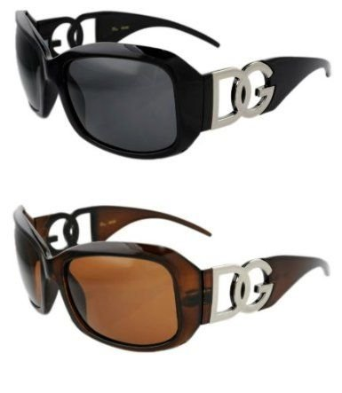 Oversize Frame DG Eyewear Designer Womens Fashion Sunglasses