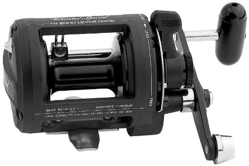 Shimano TR2000LD Charter Levelwind Capacity