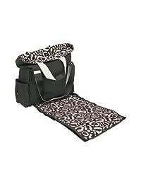 Maclaren Field Bag, Black/Leopard, 4 Pack