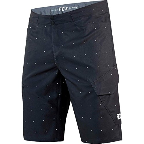 Fox Racing Ranger Cargo Print Short - Men's Black Dots, 36 by Fox Racing
