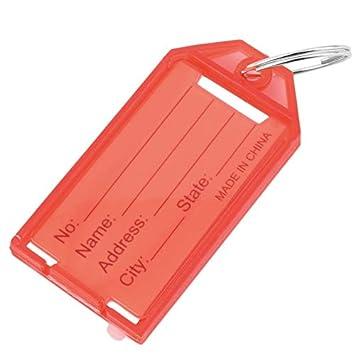 Etiqueta de llavero, plástico Etiquetas de llavero Llaveros ...