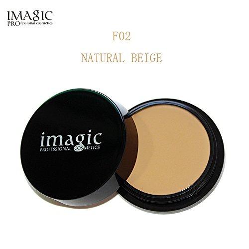 Organic Moisturizing Liquid Foundation (IMAGIC Face Makeup Concealer Foundation Palette Creamy Moisturizing 20g by Fenleo)