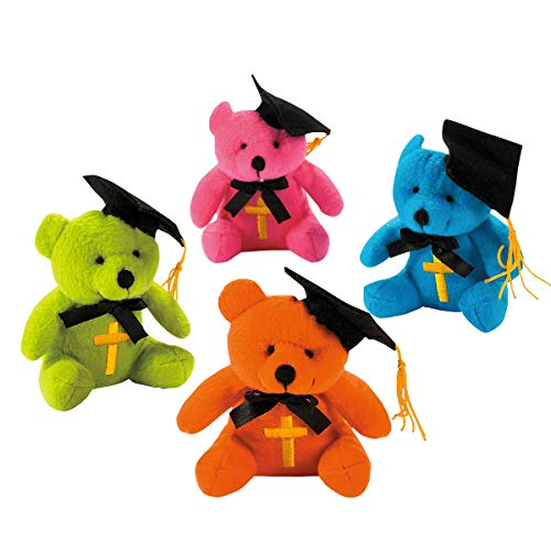 Kicko Adorable Religious Graduation Bear - Set of 12 - 5