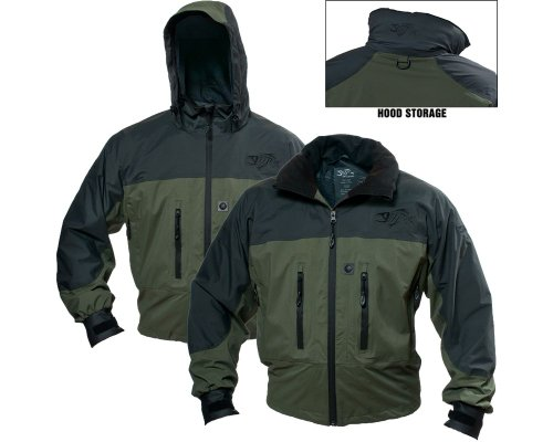 G Jacket Fishing Loomis - G. Loomis Native Run 2L Jacket - Charcoal/Olive - XL