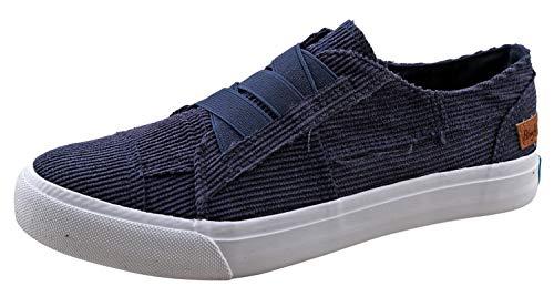 Blowfish Women's Marley Sneaker (6.5 B(M) US, Navy Popsicle Corduroy)