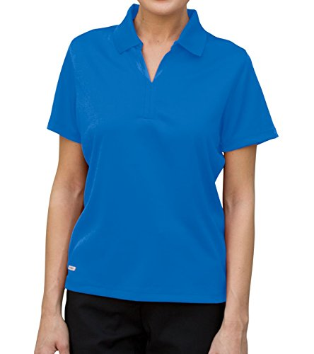 Vantage Women's Vansport V-Tech Performance Polo Shirt, Blueprint, XL ()