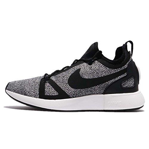 Nike W Duello Corridore In Maglia Donne Aa1107-003 Nero / Nero-grigio Scuro-vertice Bianco