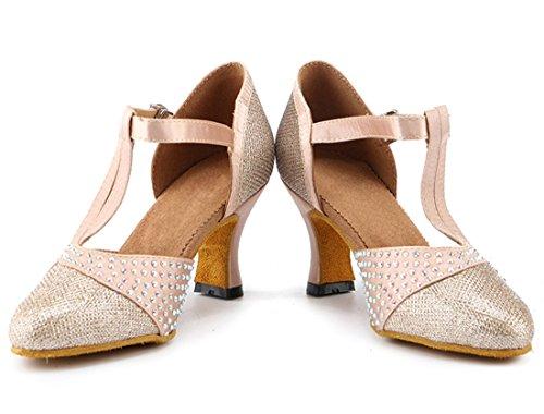 MGM Beige Heel e Donna 7cm Moderno Jazz Joymod rZqHrRg