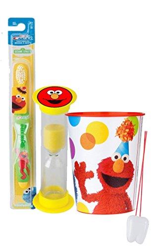 Sesame Street Inspired Toothbrush Mouthwash