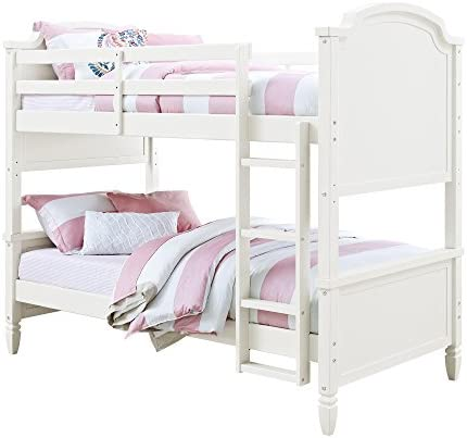 Convertible Twin-over-Twin Wooden Bunk Bed