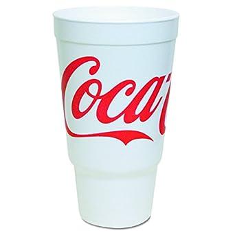 Amazon.com: Dart 32 aj20 C Foam tazas, Coca-Cola, rojo ...