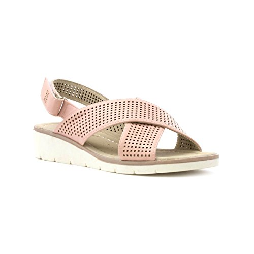Chop Sandal Cross Out Womens Keller Dr Beige Stone Strap wgq0vXaxT