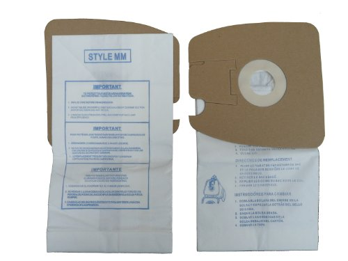 Eureka MM Vacuum Bags (18pk) By Envirocare Replaces Part# 60295C (Mighty Mite Vacuums) (Vacuum Bags Style Mm compare prices)