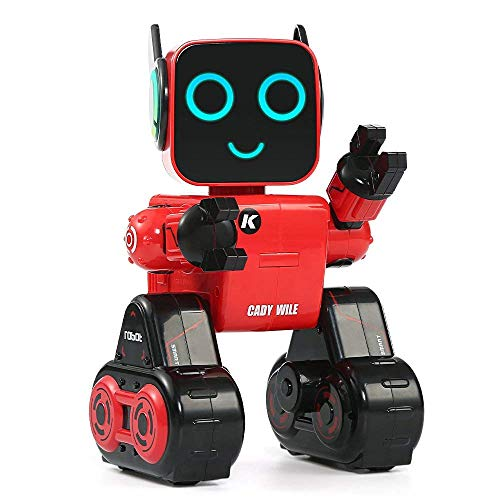 Aeeque R4 ラジコンロボット 知能ロボットミニ RCロボット リモコンモード/タッチモード /プレイモード インテリジェント 子供 おもちゃ 多機能 可愛い 誕生日プレゼント