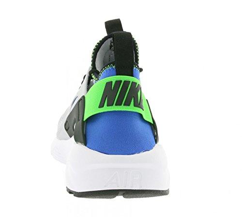 NIKE Herren Huarache Run Ultra Running Sneaker Grau schwarz