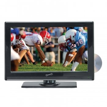 Exclusive Supersonic SC-2212 22 Widescreen LED HDTV with Built-in DVD Player By Supersonic (New) (Widescreen Tv 22 Dvd)