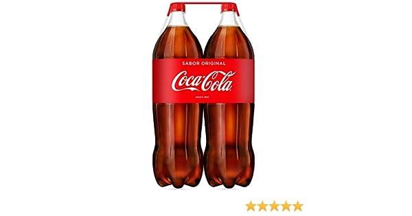Coca-Cola - Regular, Refresco con gas de cola, Pack of 3 x 2 ...