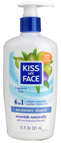 Kiss My Face Moisture Shave Fragrance Free -- 11 fl oz - 3PC