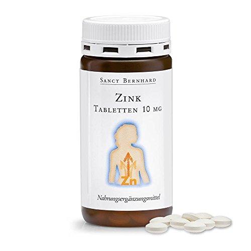 Zink-Tabletten mit 10mg Zink pro Tablette 210 Tabletten