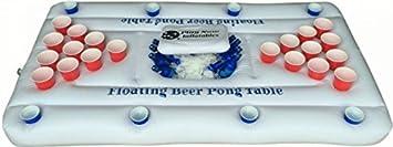 Play Now Inflatables Hinchable Enfriador de Cerveza Pong Mesa con ...