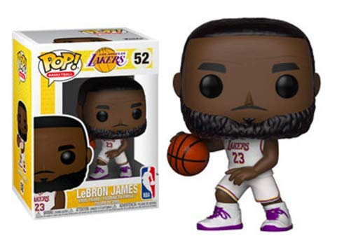 Funko POP! NBA: Lakers - Lebron James (White Uniform) ()