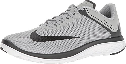 New Nike Men's FS Lite Run 4 Running Shoe Wolf Grey/Black...