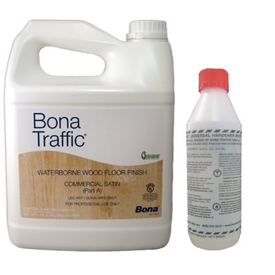 Bona Kemi Bona Traffic WT153918001 Waterborne Wood Floor Finish, - Traffic Anti Slip Bona
